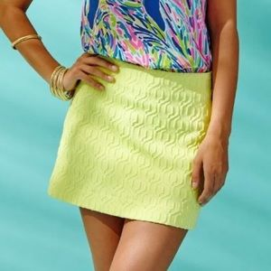 Lilly Pulitzer Limoncello Tate Skirt